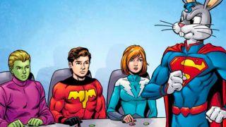 Legion of Super-Heroes Bugs Bunny