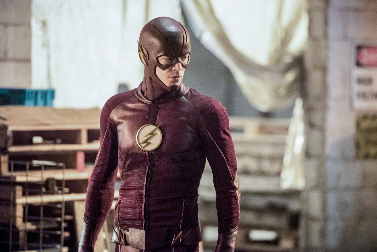 "The Flash -- ""I Know Who You Are"" -- FLA320b_0189b.jpg -- Pictured: Grant Gustin as The Flash -- Photo: Dean Buscher/The CW -- © 2017 The CW Network, LLC. All rights reserved."