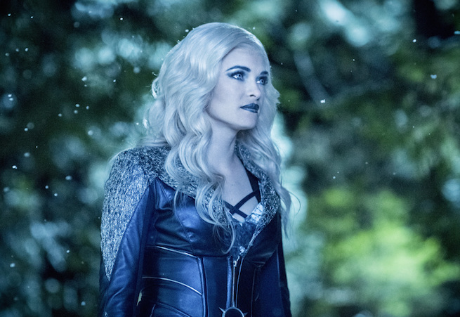 """The Flash -- """"Infantino Street"""" -- FLA322b_0266b.jpg -- Pictured: Danielle Panabaker  as Killer Frost -- Photo: Dean Buscher /The CW -- © 2017 The CW Network, LLC. All rights reserved."""