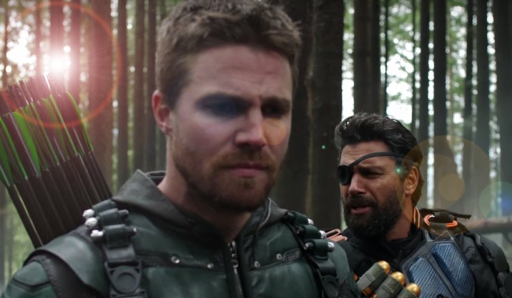 Arrow Season 5 finale trailer dc comics news