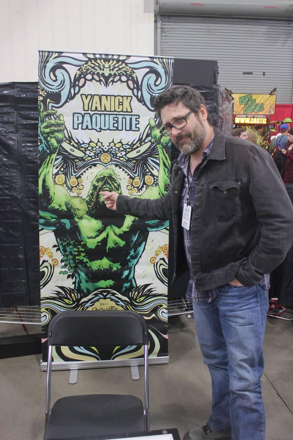 Artist Yanick Paquette