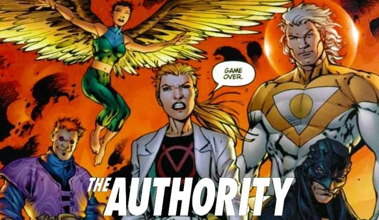 Authority DC Comics News