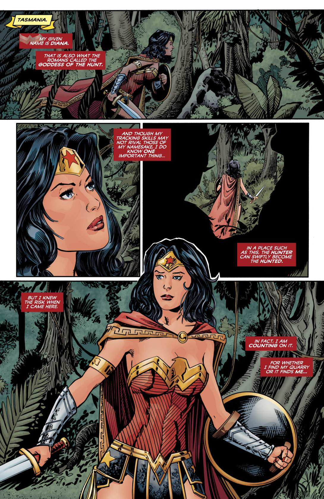 Wonder Woman Taz - DC Comics News