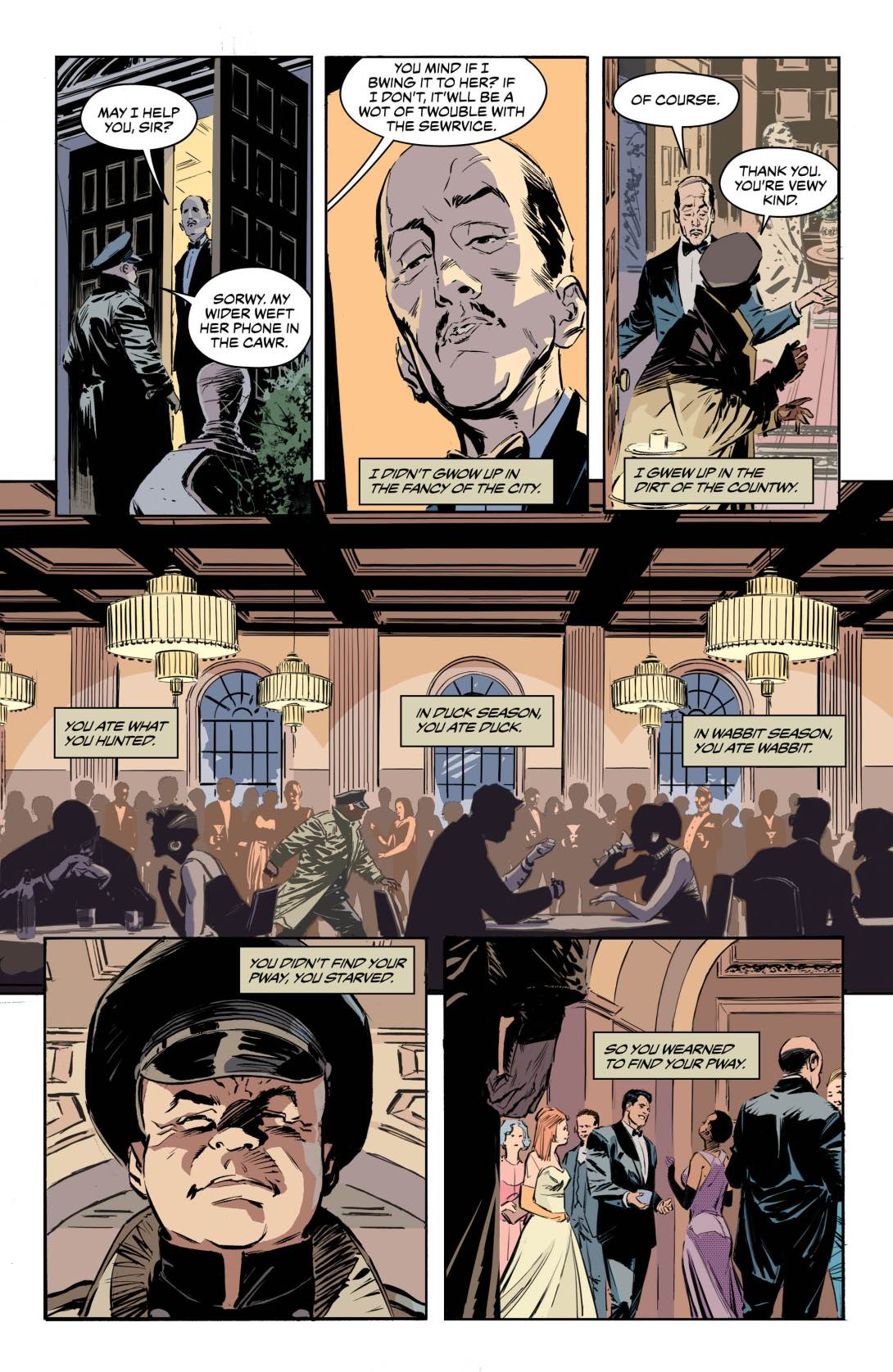 Batman Emer Fudd 1 - DC Comics News