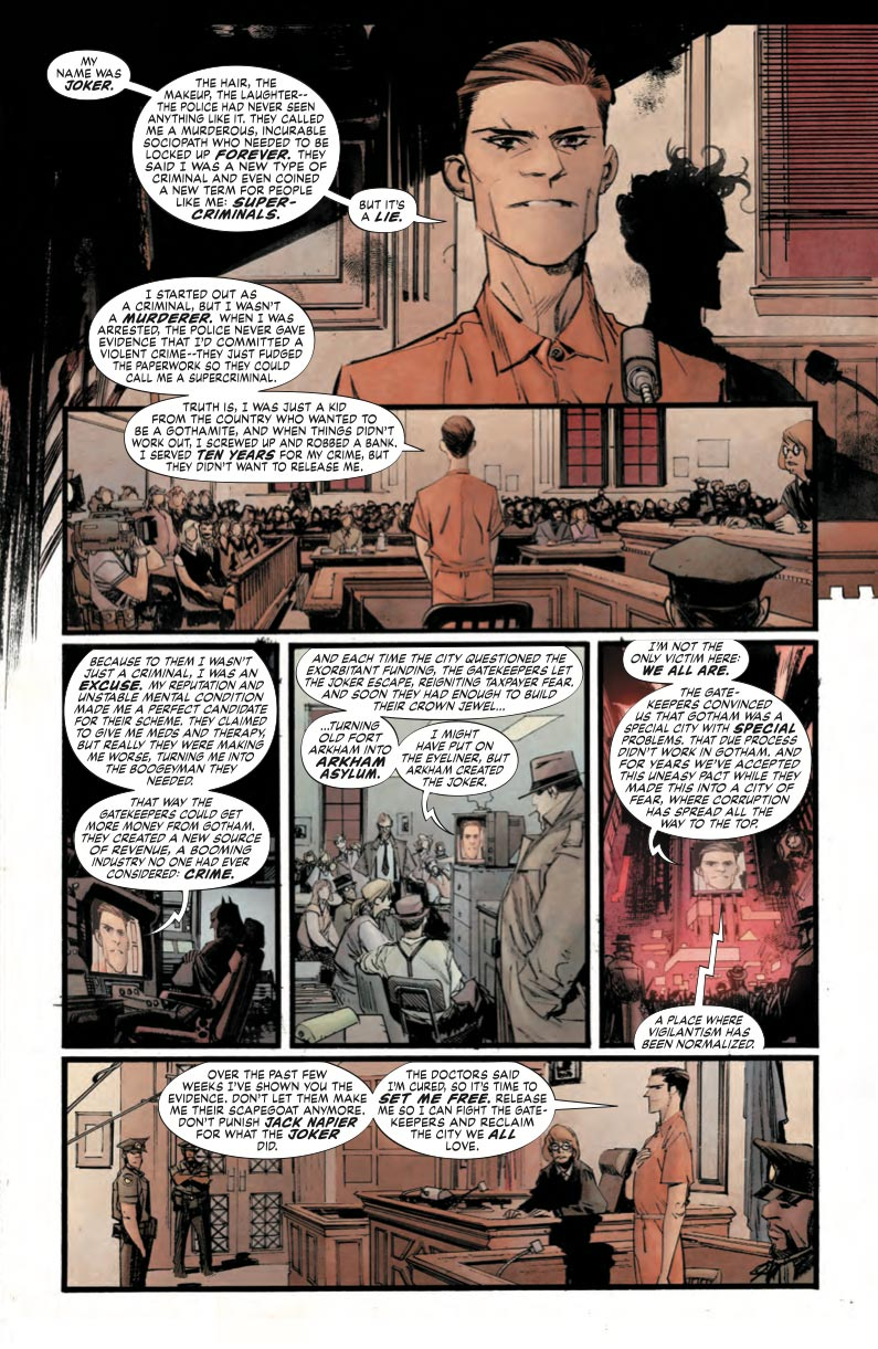 Batman White Knight 1 - DC Comics News
