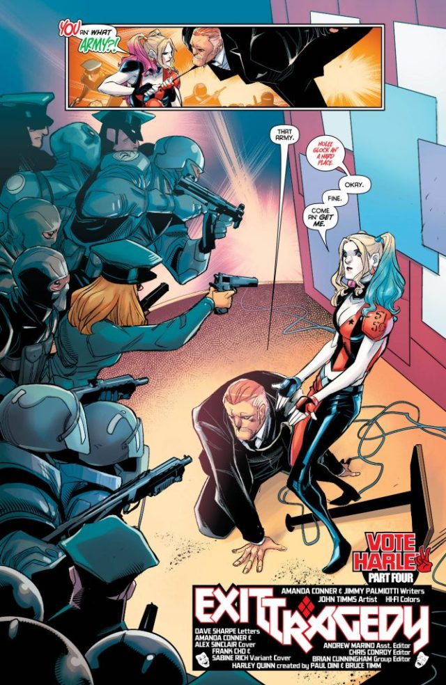 Review: Harley Quinn #31