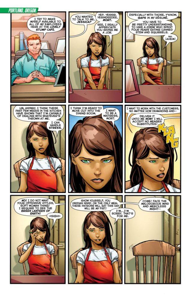 Review: Green Lanterns #35