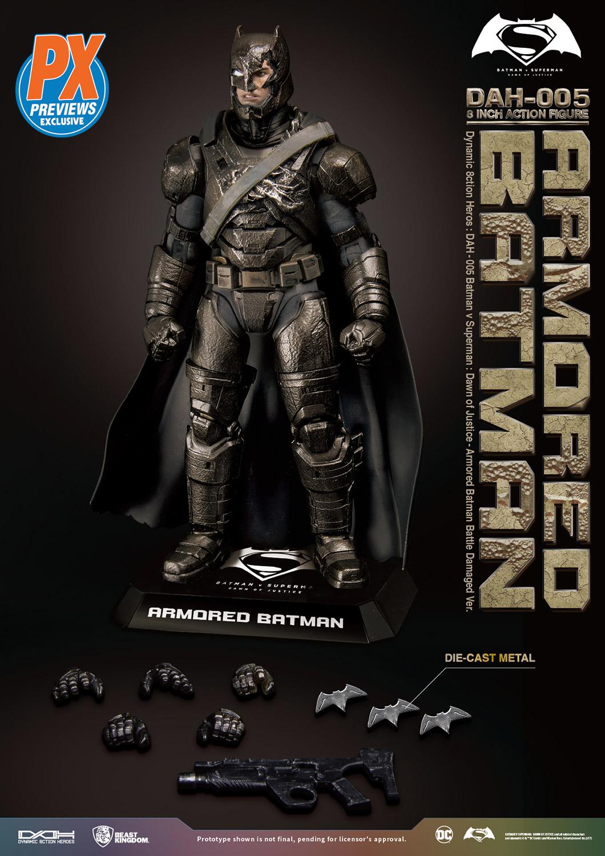 Beast Kingdom Justice League Movie Dah-010 Dynamic 8Ction Steppenwolf Action Figure