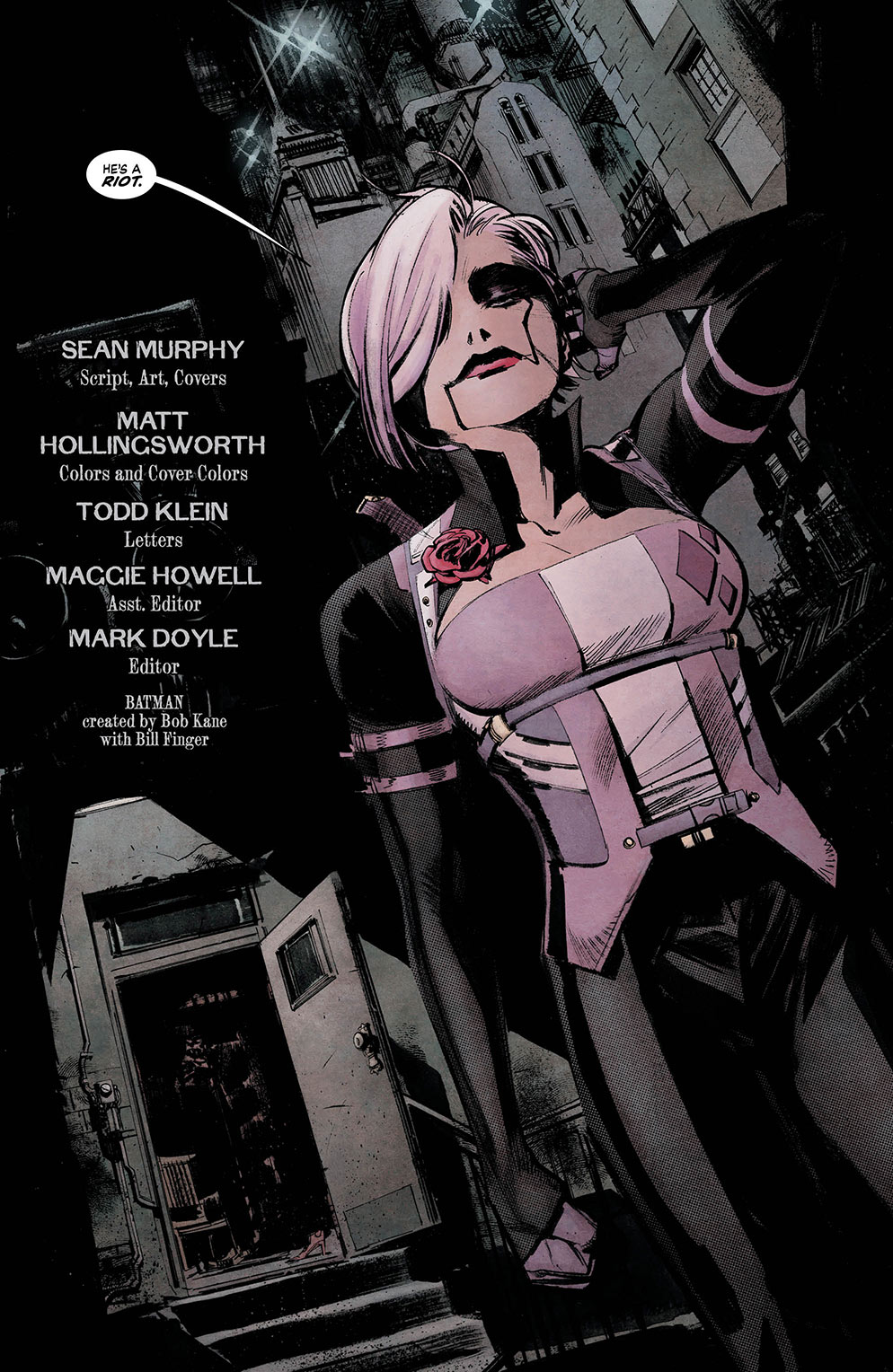 Batman White Knight 3_2 - DC Comics News