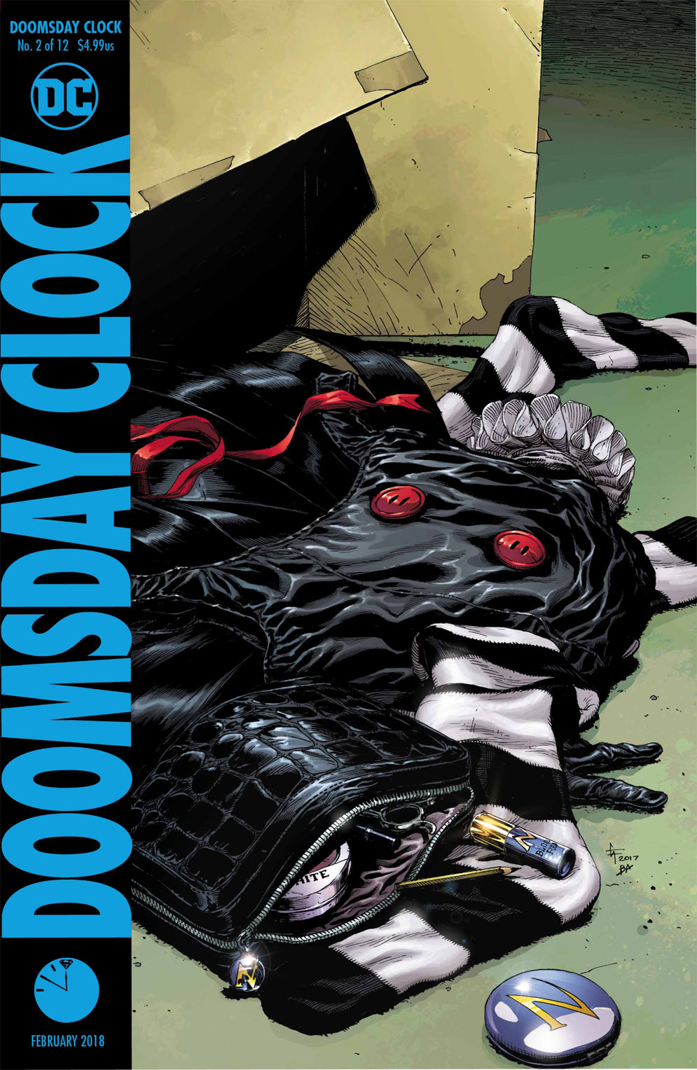 Doomsday Clock Cover #2 - DC Comics News