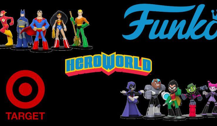 Funko Debuts New DC-Heavy Line, HeroWorld - DC Comics News