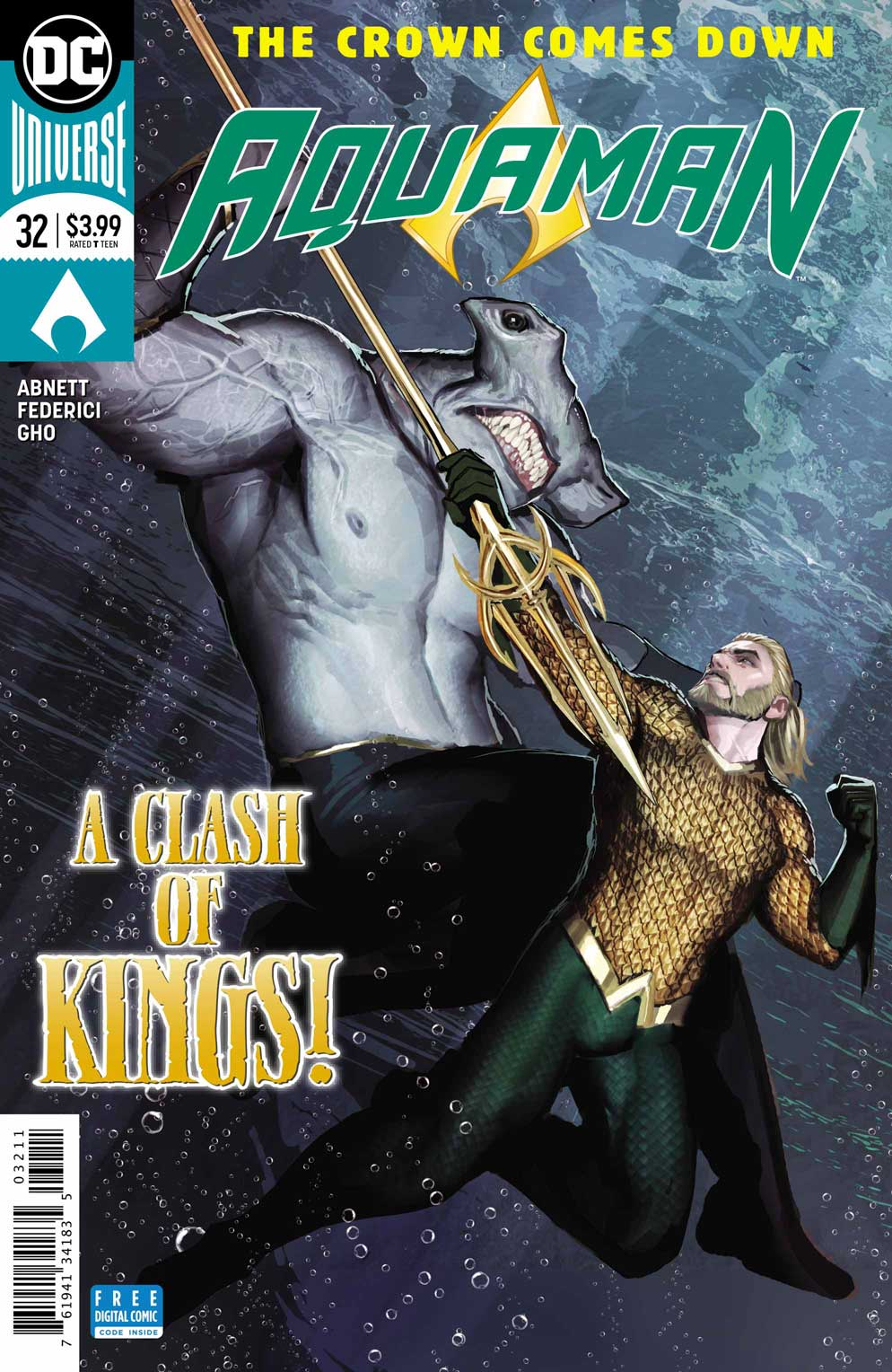 Aquaman 32 - DC Comics News
