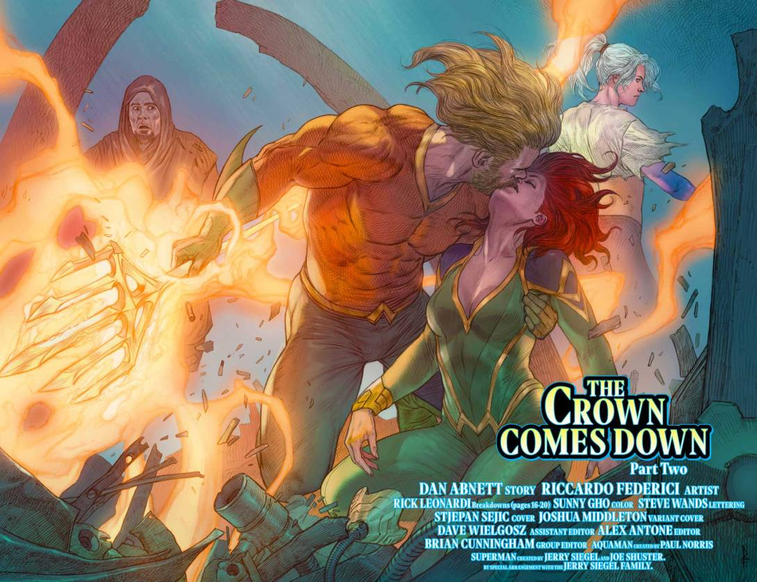 Aquaman 32_4 and 5 - DC Comics News