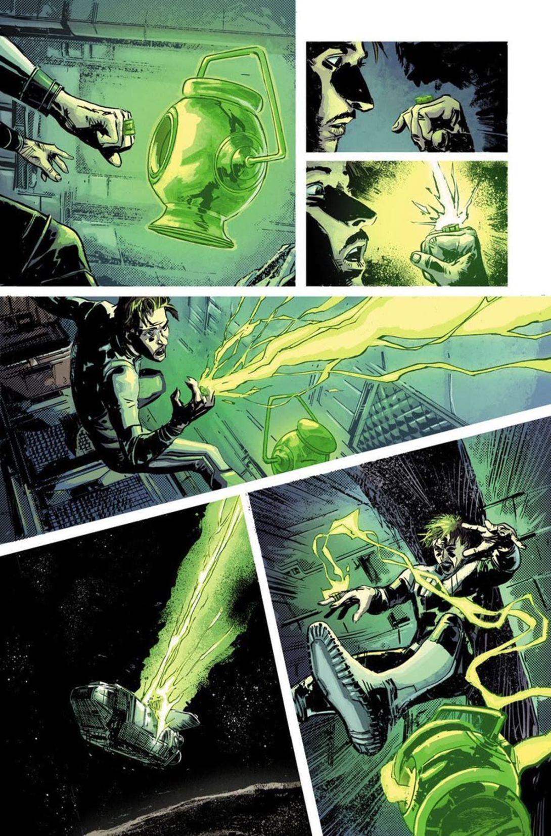 Green Lantern Earth One 2 - DC Comics News