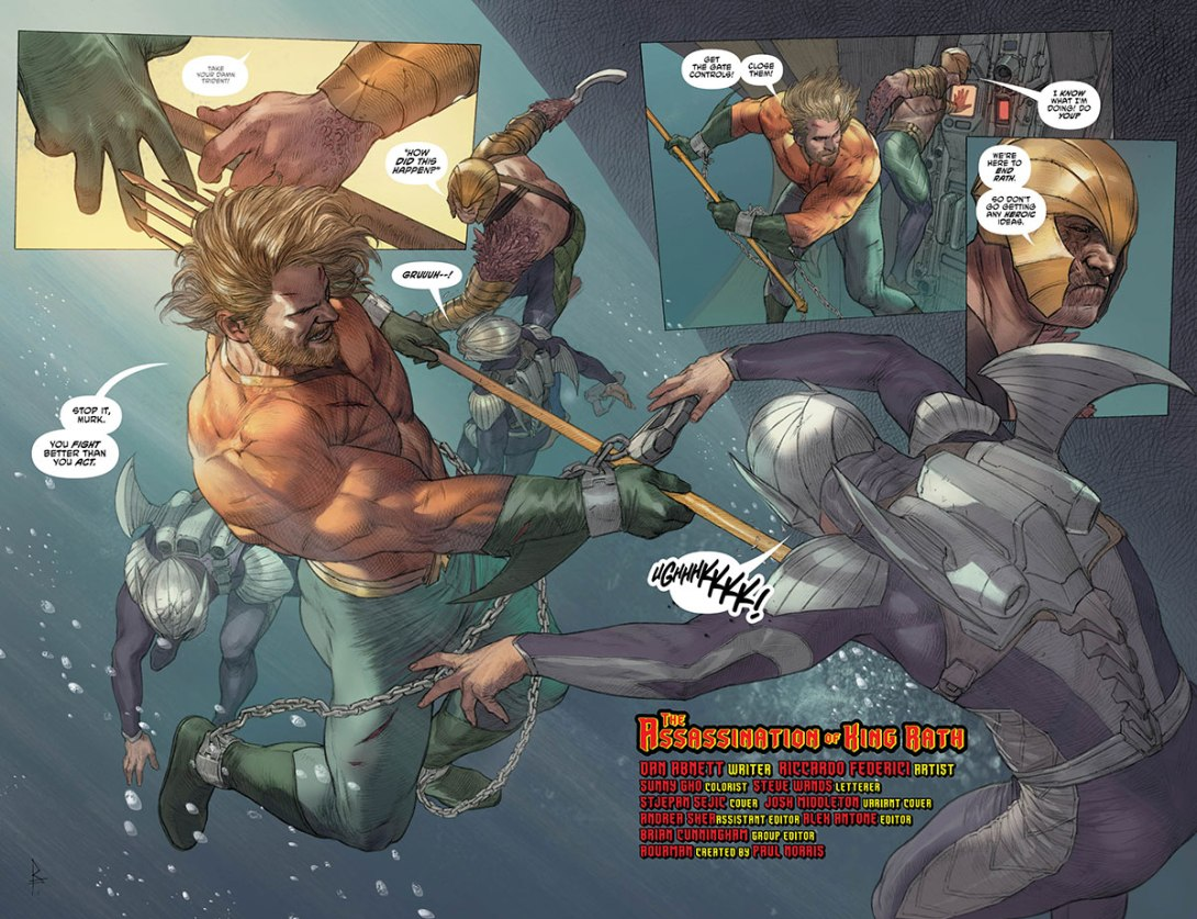 Aquaman 36 - page 2-3 - DC Comics News
