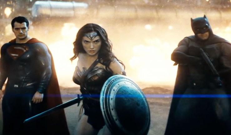 Superman Batman Wonder Woman 1984 fan posters