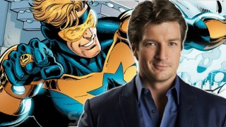 Nathan Fillion Booster Gold dc comics news