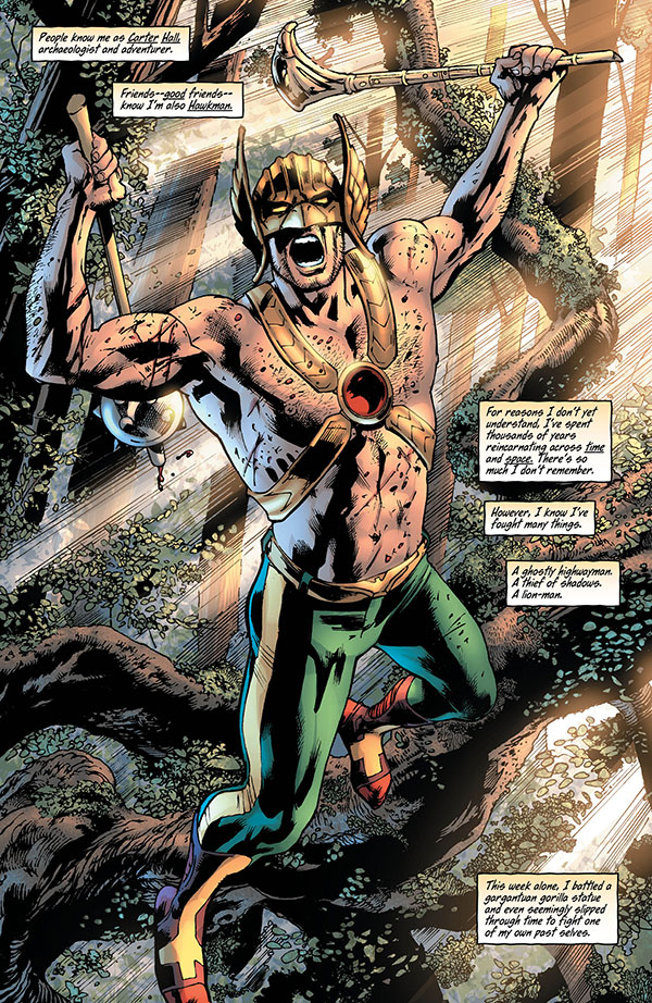 Hawkman 3_1 - DC Comics News