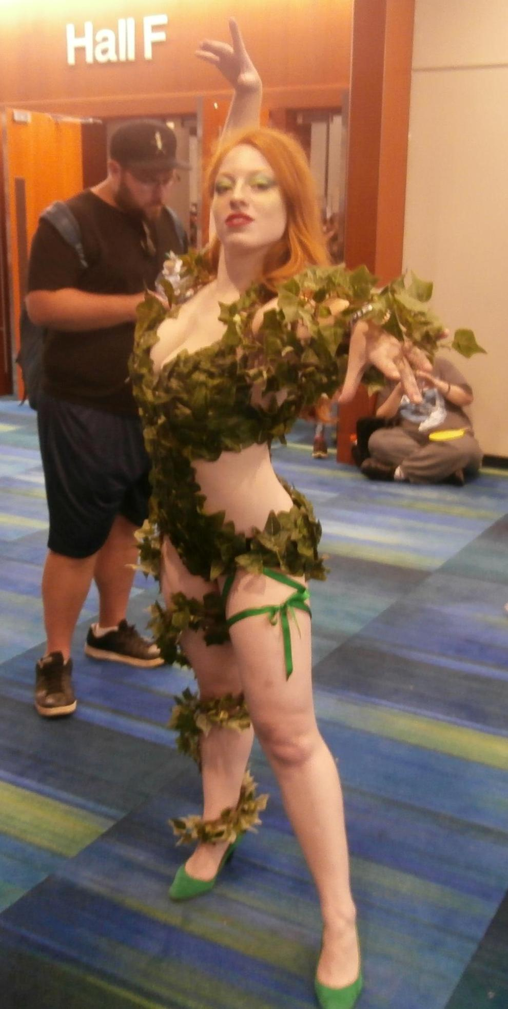 Poison Ivy can be sexy...