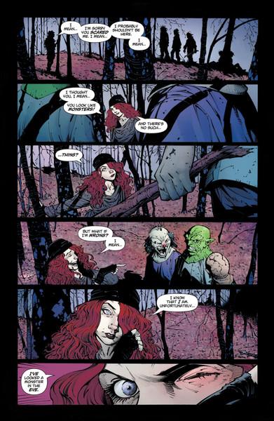 swamp thing dc comics news