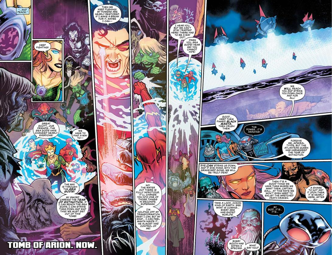 Aquaman Drowned Earth - 1-2 3 - DC Comics News