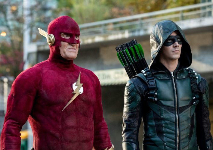 Elseworlds flash and Arrow dc comics news