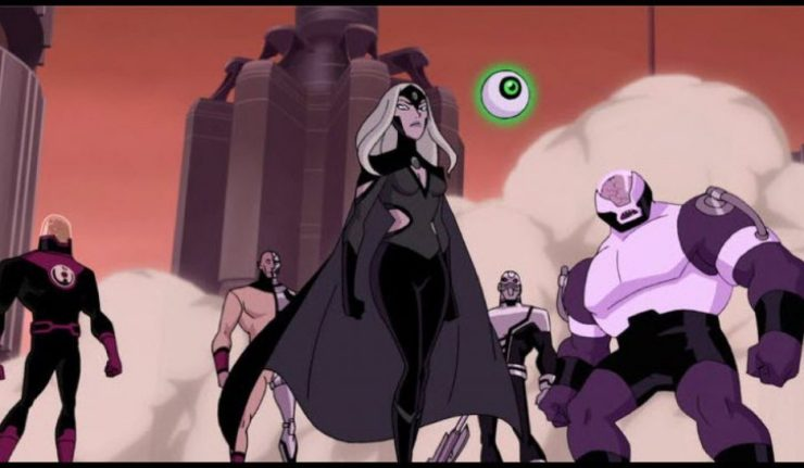 justice league and the fatal five cast