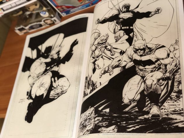 Jim Lee DC Legends Artifact Edition dc comics news
