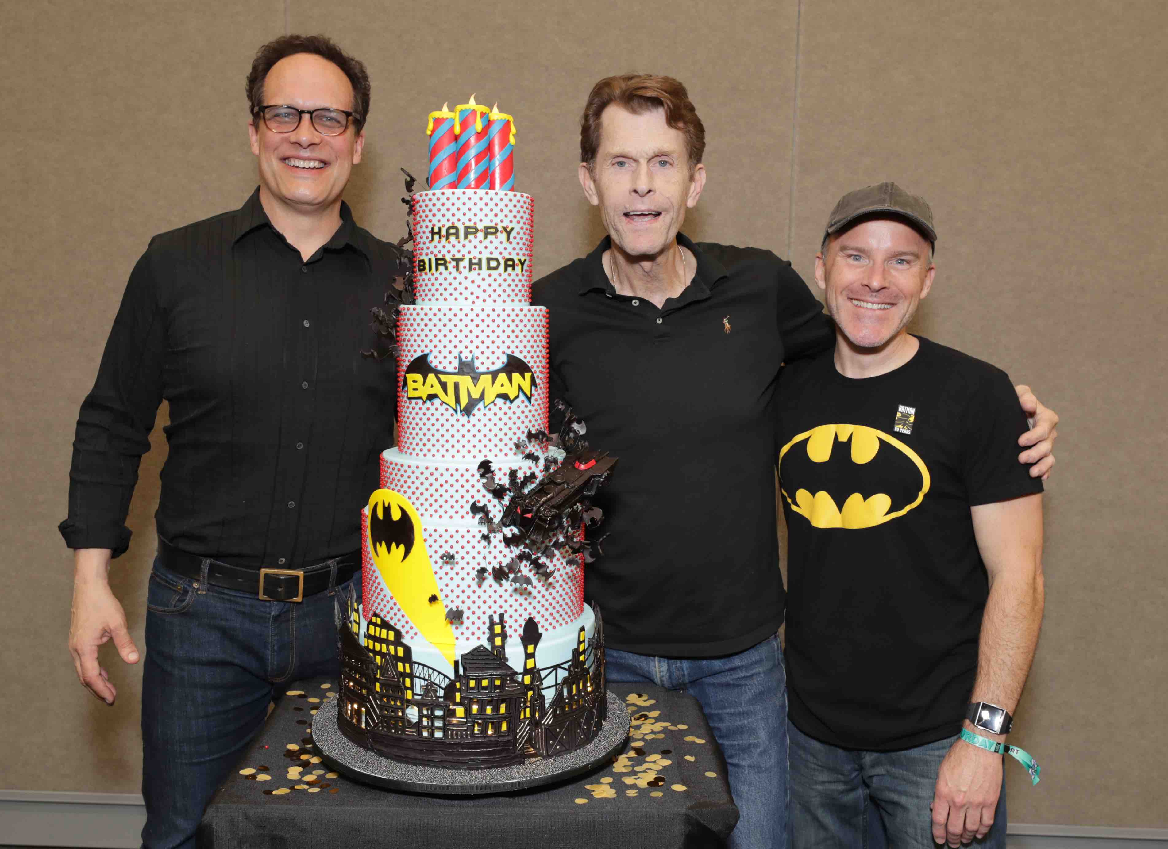 Diedrich Bader, Kevin Conroy and Roger Craig Smith