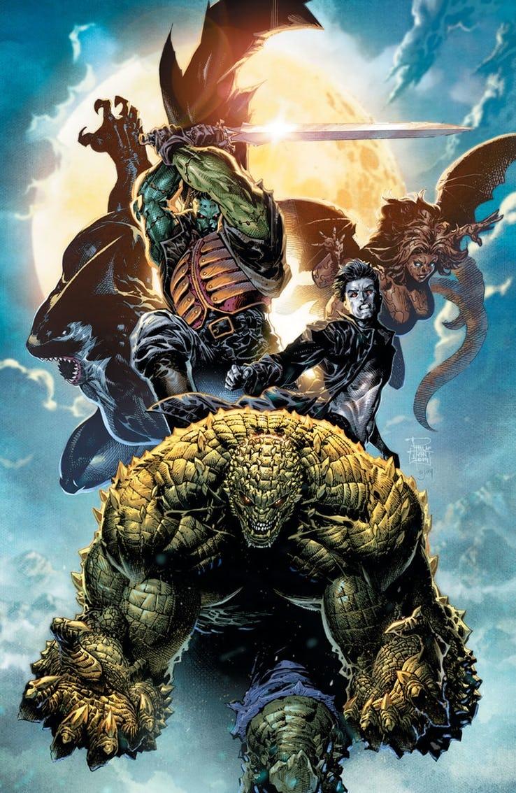 Gotham City Monsters - Leviathan