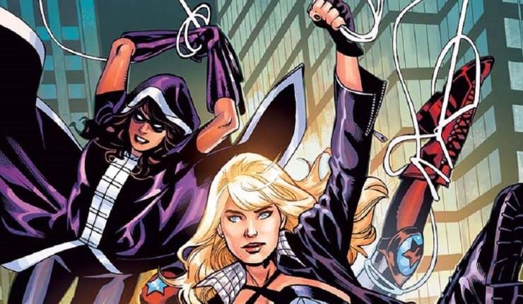 Birds of Prey comic