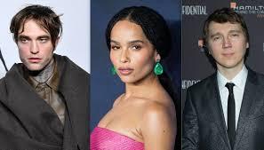 Robert Pattinson, Zoe Kravitz and Paul Dano