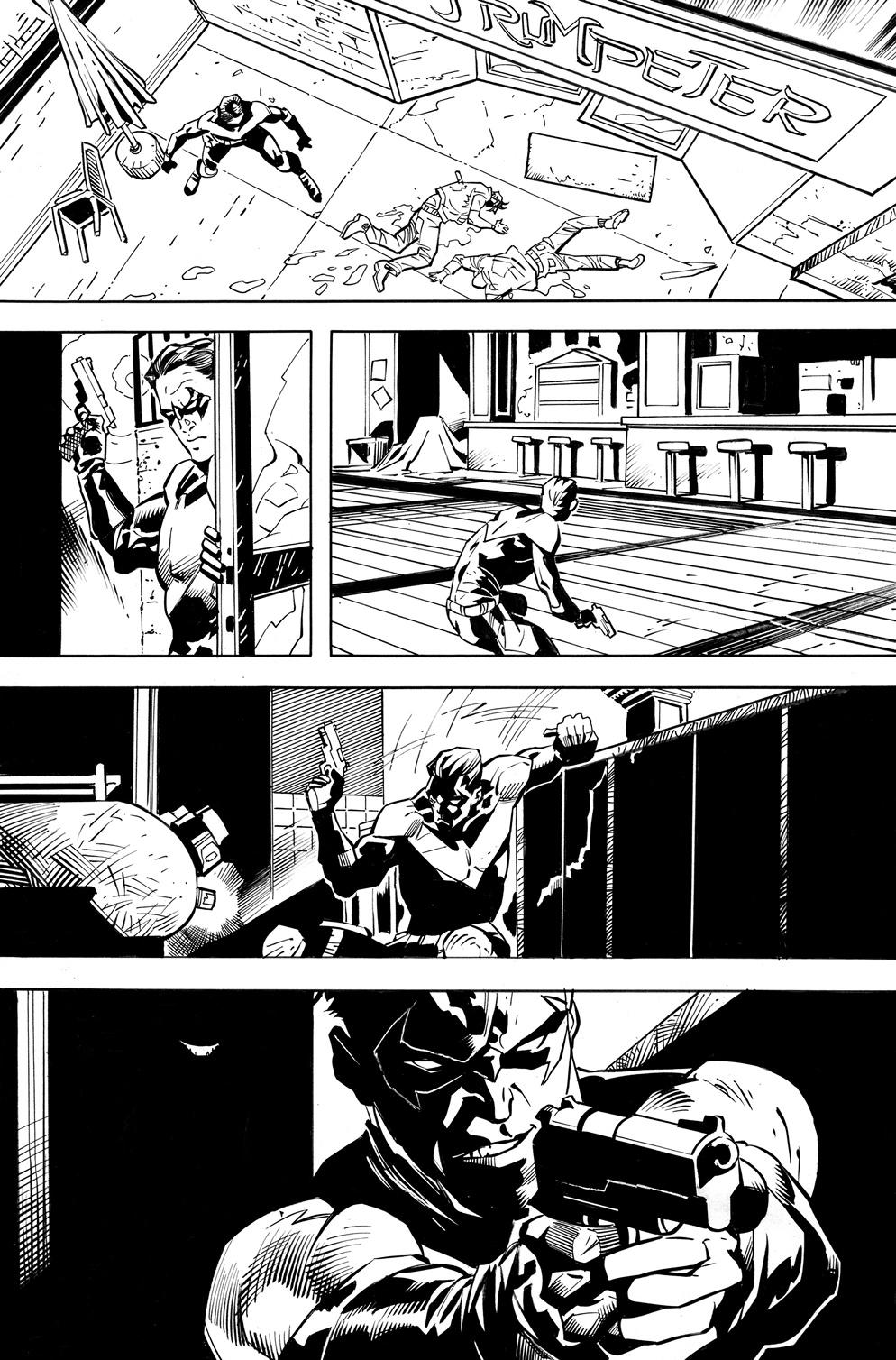 Nightwing #70 is written by Dan Jurgens, with art by Ryan Benjamin.