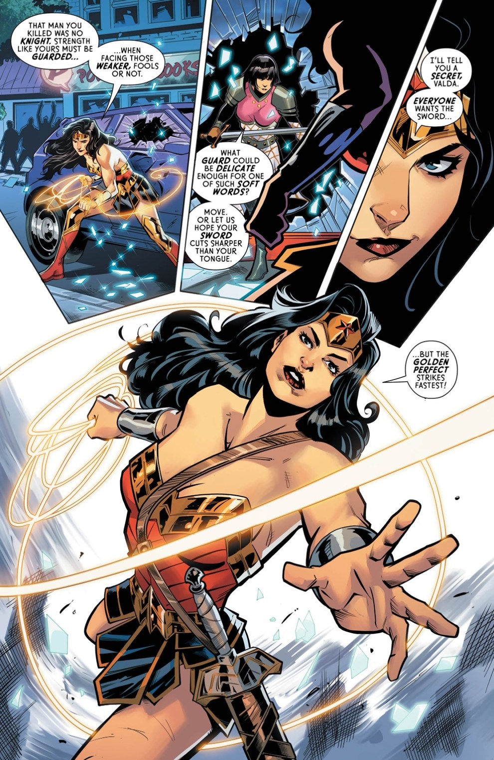 Wonder Woman #752 is written by Steve Orlando, with art by Max Raynor and color by Romula Fajardo Jr.