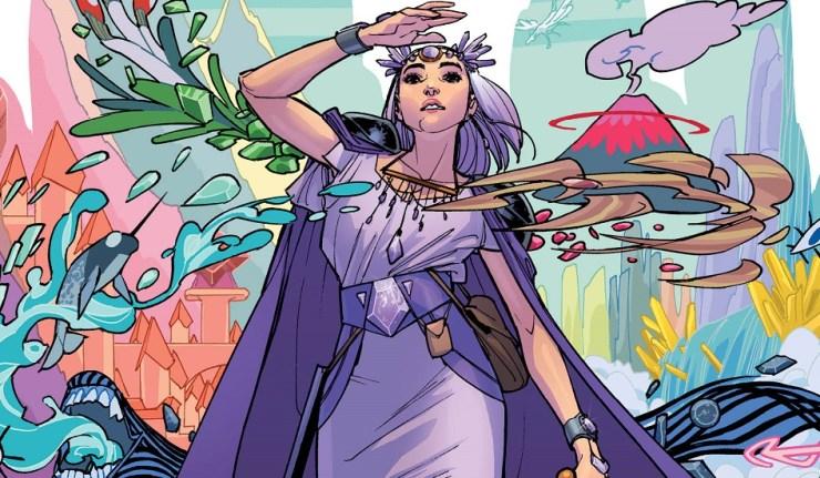 Amethyst #1 by Amy Reeder, DC Comics, DC Comics News