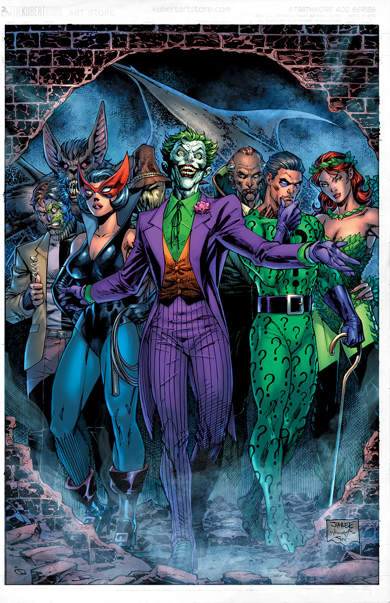 1970s variant cover by Jim Lee and Scott Williams