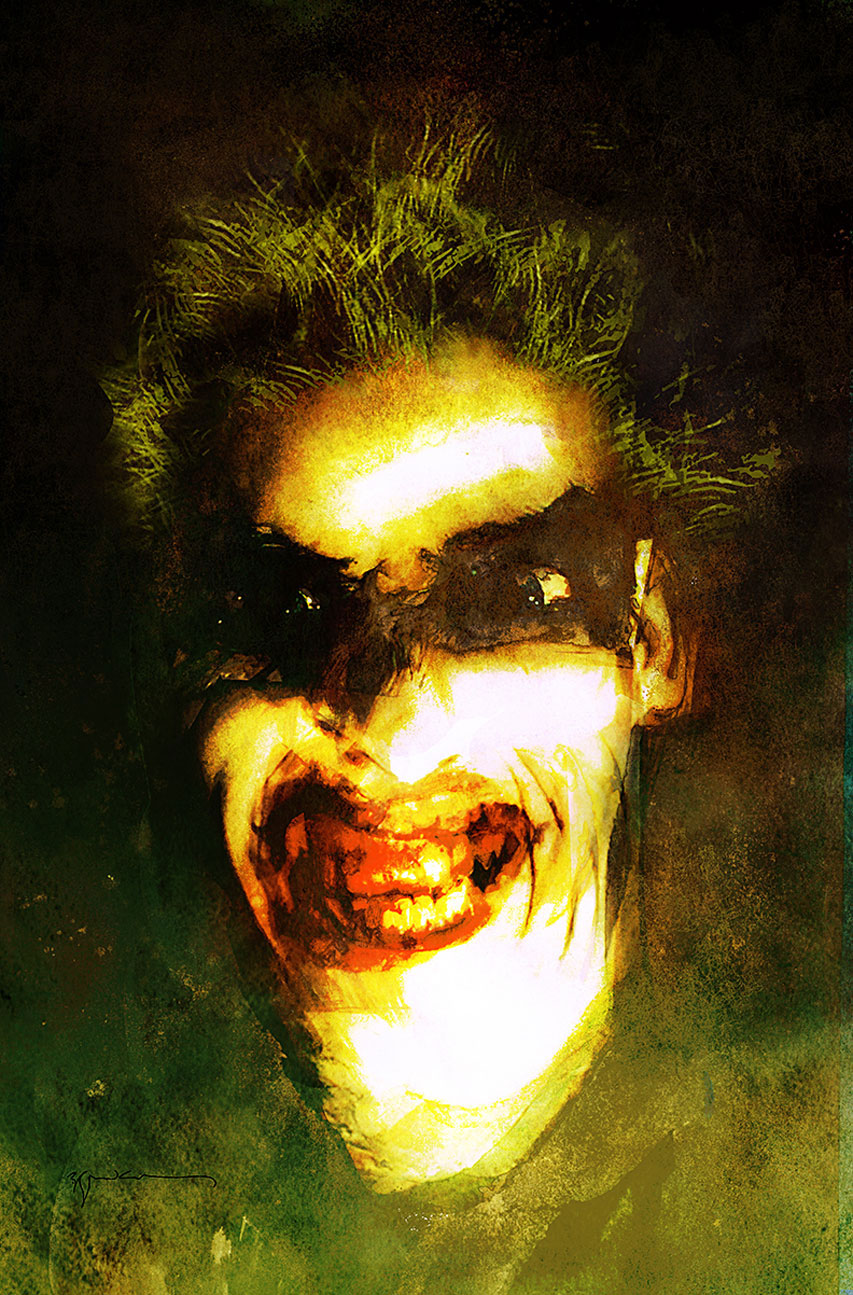 1980s variant cover by Bill Sienkiewicz