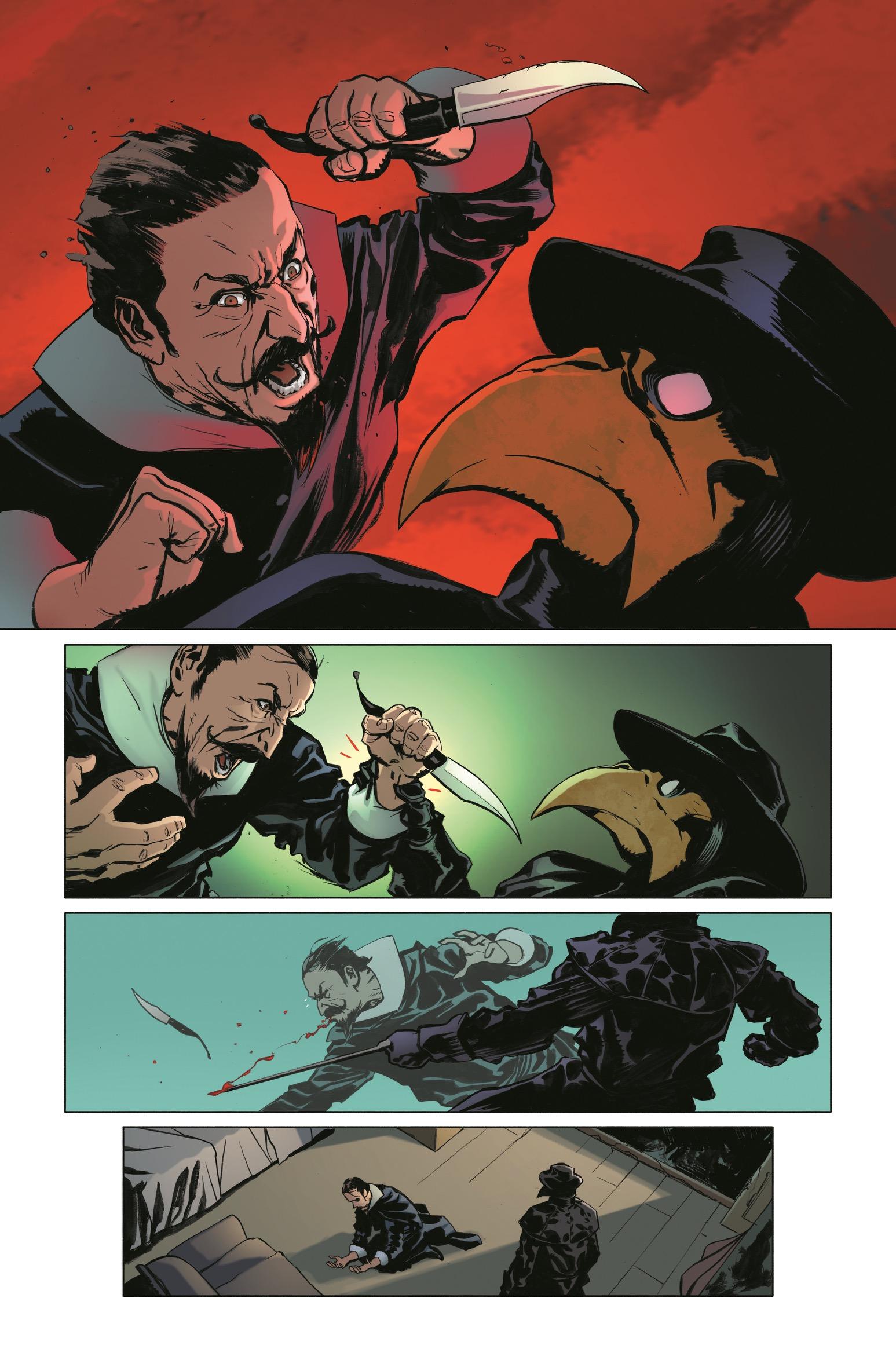 Hawkman #23 is written by Robert Venditti with art by Marcio Takara and Fernando Pasarin.