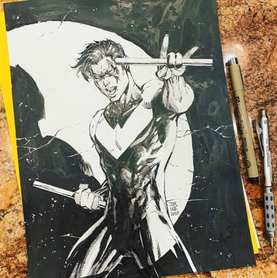 Jim Lee sketch