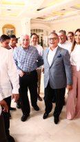 • Festejando con Arturo Núñez Jiménez durante el evento en el Hotel Quinta Real