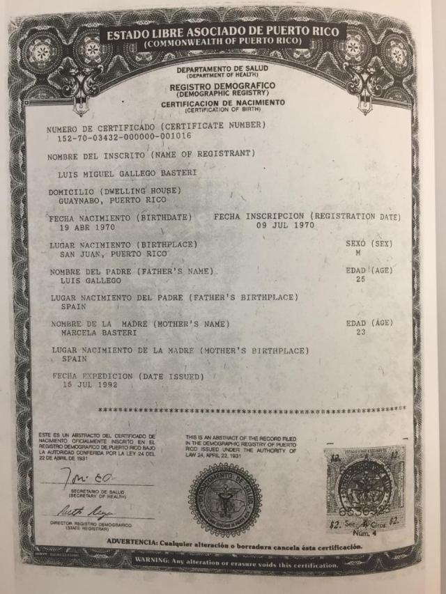 Perfecto Certificado De Nacimiento Jackson Ilustración - Certificado ...