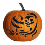 Free Download The Nightmare Before Christmas Pumpkin Templates