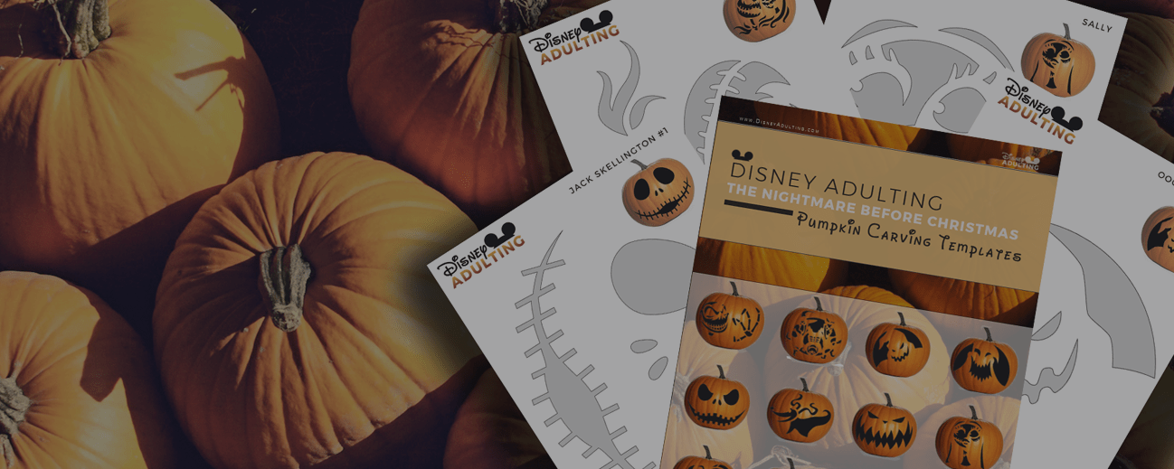 Free Download] The Nightmare Before Christmas Pumpkin Templates