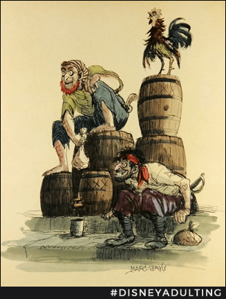 Rare-Disney-Merchandise-Pirates-Caribbean-Concept-Artwork