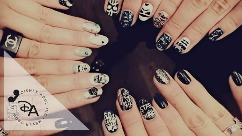 Star Wars Nail Designs that are One with the Force