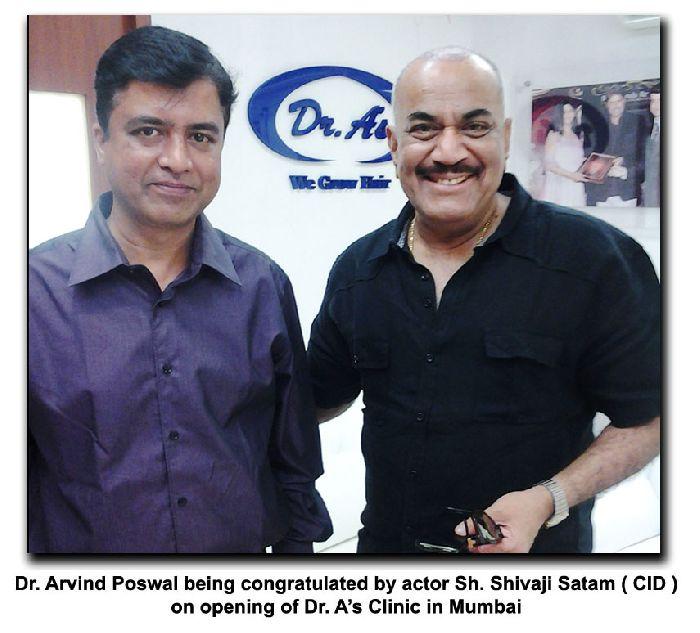 Shivaji Satam Hair Transplant