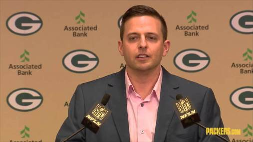 Packers' Eliot Wolf withdraws from 49ers' GM race