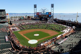 Thousands of fans attended the Giants Fan Fest at AT&T Park on Feb. 11, 2017.
