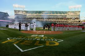 Los Angeles Angels vs Oakland Athletics