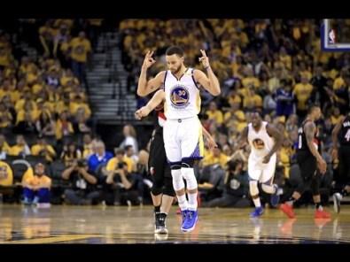 Warriors vs. Blazers, April 19, 2017